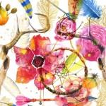Tendances peintures: fabuleux motifs floraux à peindre