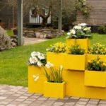 Jardinières écolos en matériaux de récupération